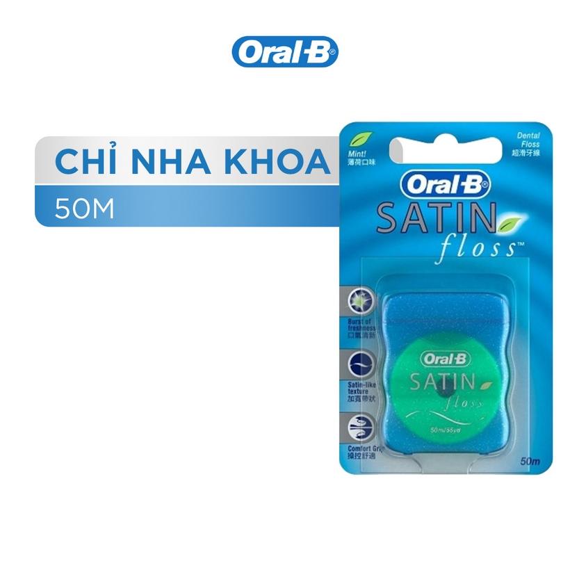 Chỉ Nha Khoa Oral-B Floss Satin Gentle For Gum (50m)