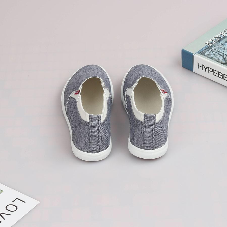 Giày lười nam - Slip on nam vải - Mã S532
