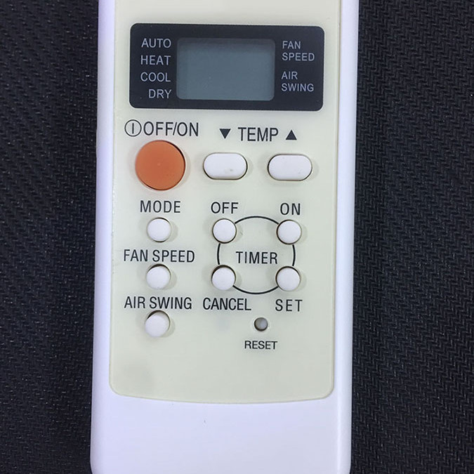 Điều khiển dùng cho điều hòa panasonic A75C2560