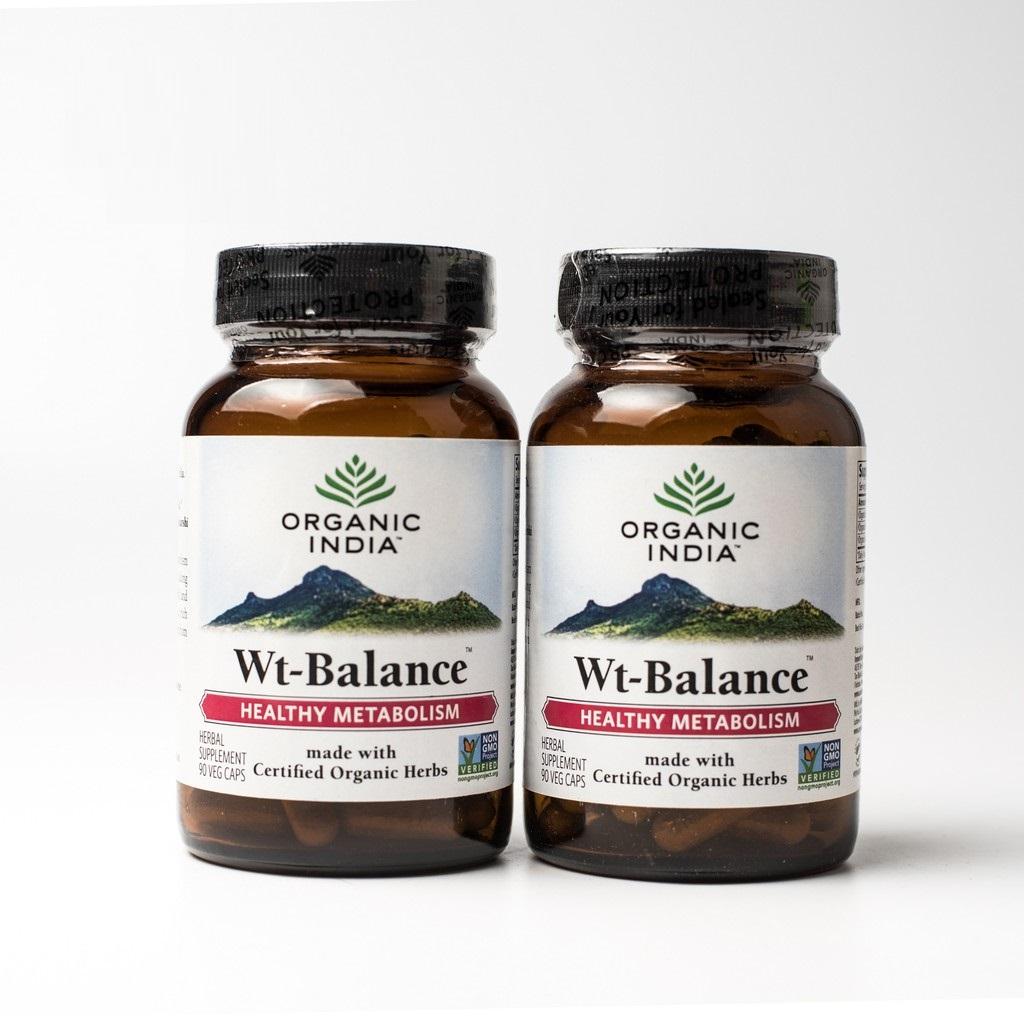 Viên uống giúp giảm cân Organic India Wt-Balance, India 90 Viên