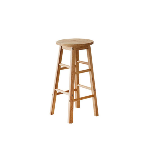Ghế Gỗ Bar stool Thiết Kế Hiện Đại Phong Cách NỘI THẤT TC205 Gỗ cao su - cao 60cm