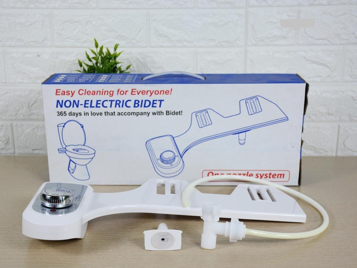 Vòi xịt rửa vệ sịnh thông minh HYUNDAE BIDET HB-8000 - 2 vòi phun 2 chế độ rửa