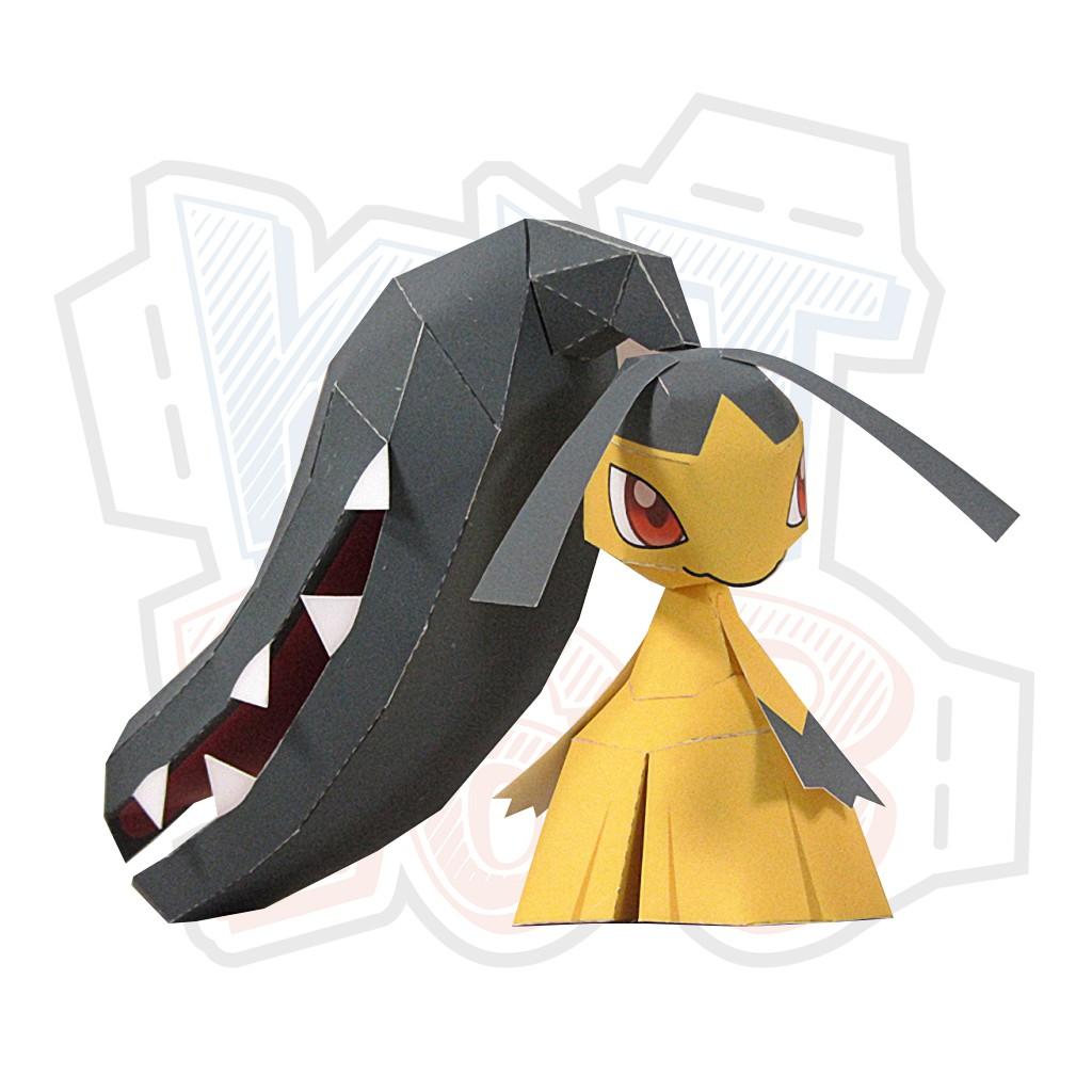 Mô hình giấy Anime Pokemon Mawile