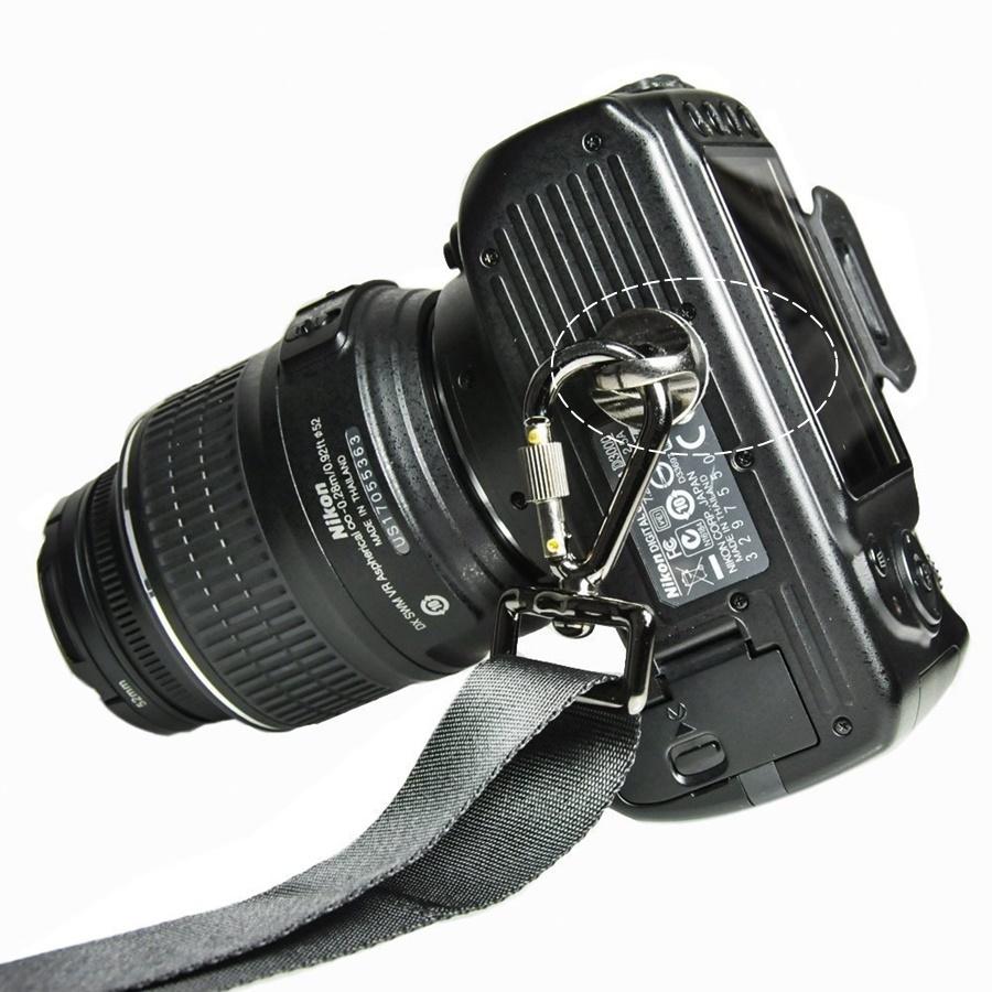Vít an toàn 1/4 inch cho dây đeo máy ảnh ama11