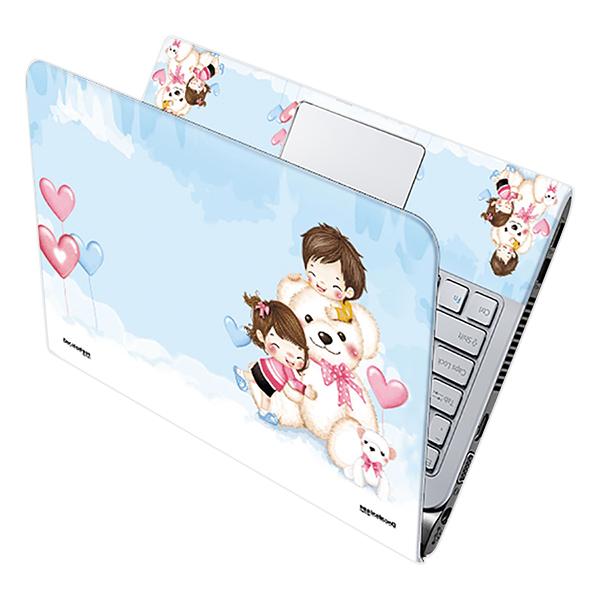Mẫu Dán Decal Laptop Hoạt Hình Cực Đẹp LTHH-57