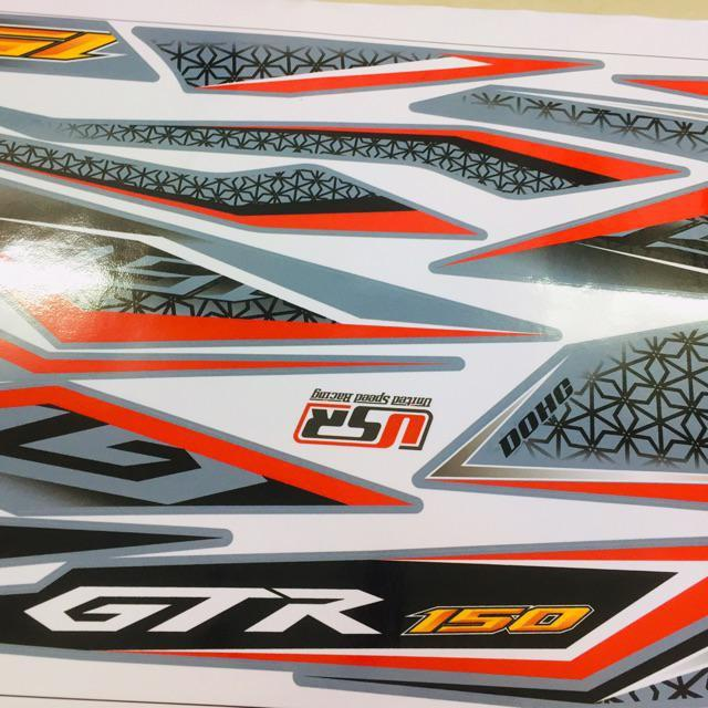 Tem dành cho xe Winner V1 GTR rời xi măng in cực nét (bộ)