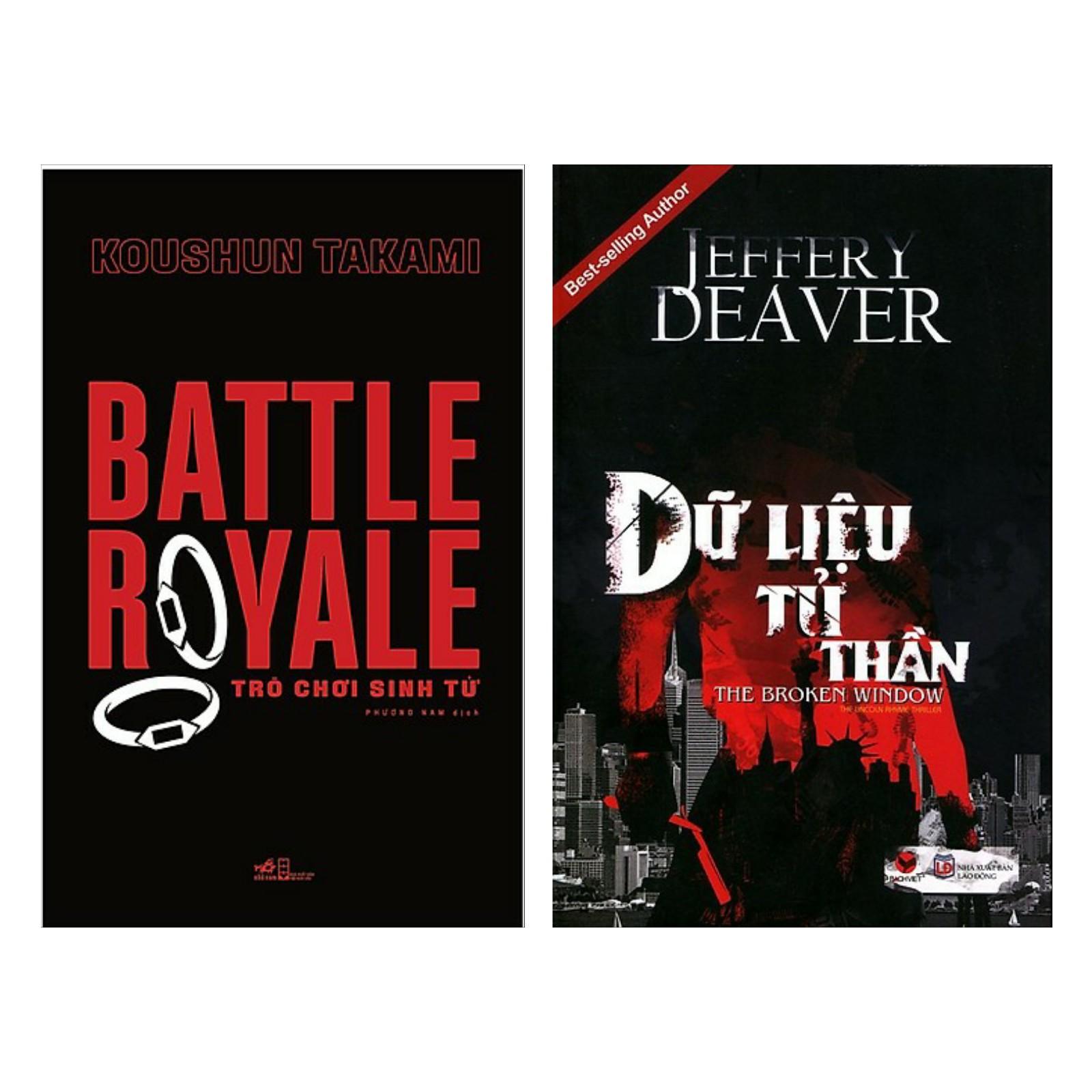 Combo Truyện Trinh Thám : Battle Yolale + Dữ Liệu Tử Thần ( Combo Truyện Trinh Thám Giúp Luyện Não / Tặng Kèm Bookmark Greenlife )