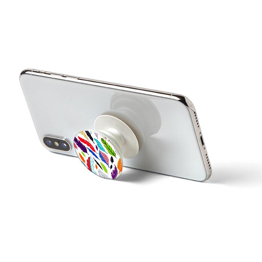 Gía đỡ điện thoại đa năng, tiện lợi - Popsockets - In hình LONGVU 02 - Hàng Chính Hãng