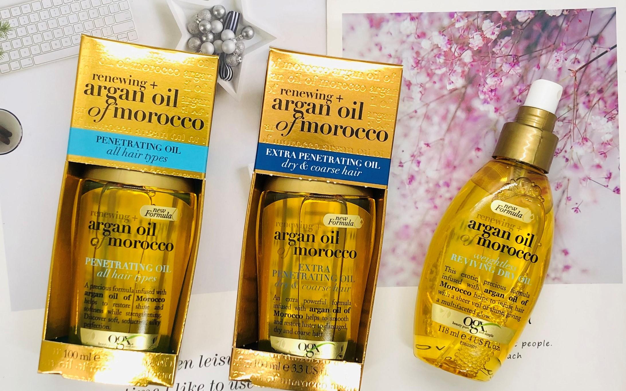 Tinh dầu dưỡng tóc OGX Argan Oil Of Morocco