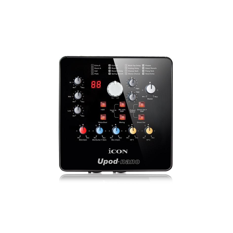 Sound card thu âm livestream Icon Upod Nano