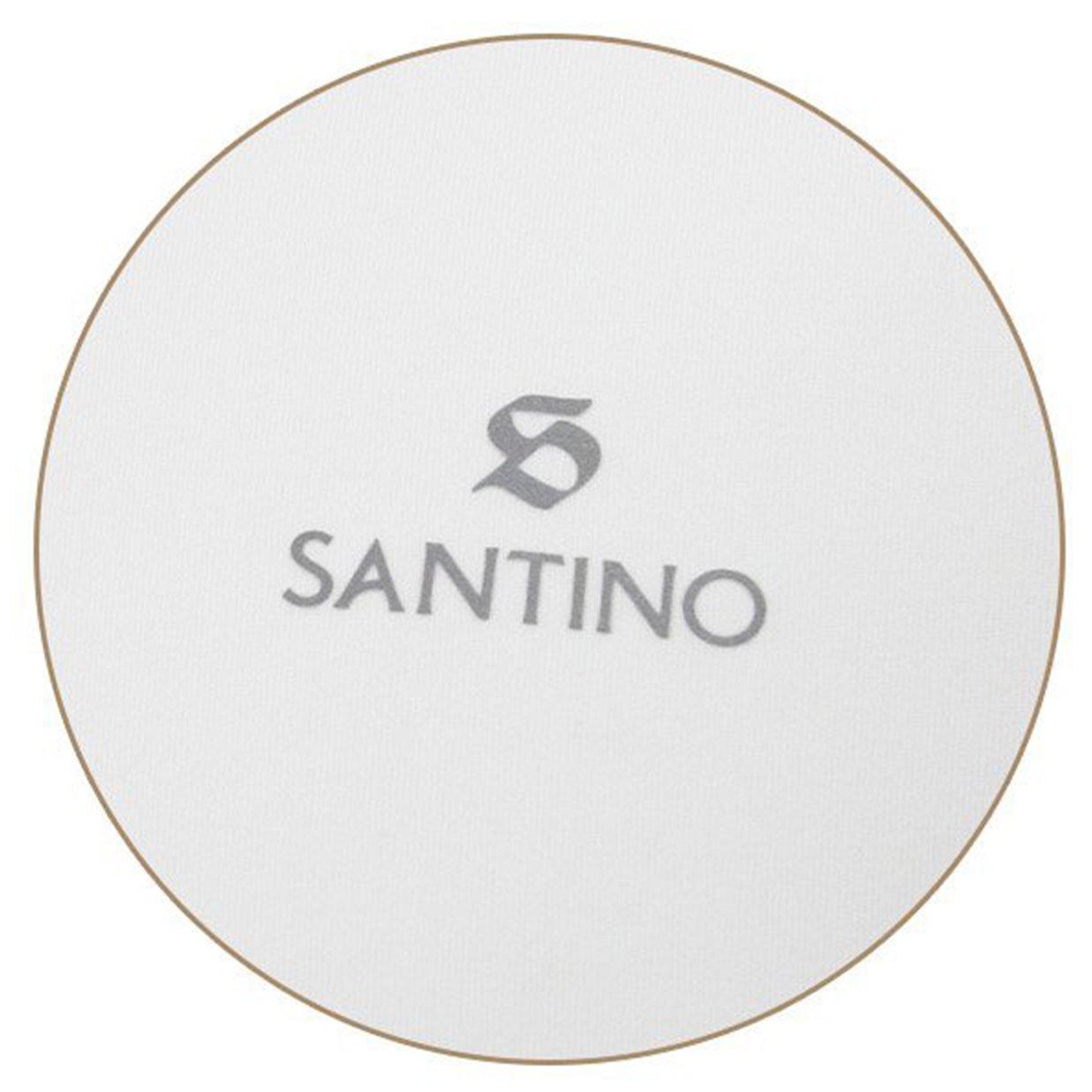 Áo thun POLO nam ngắn tay cổ bẻ Santino chất liệu thể thao co dãn, dáng slim trẻ trung TSP385B854