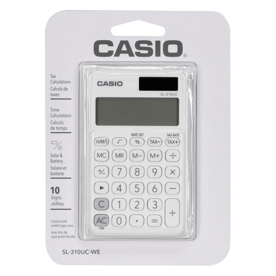 Máy Tính Để Bàn Casio Sắc Màu SL-310UC
