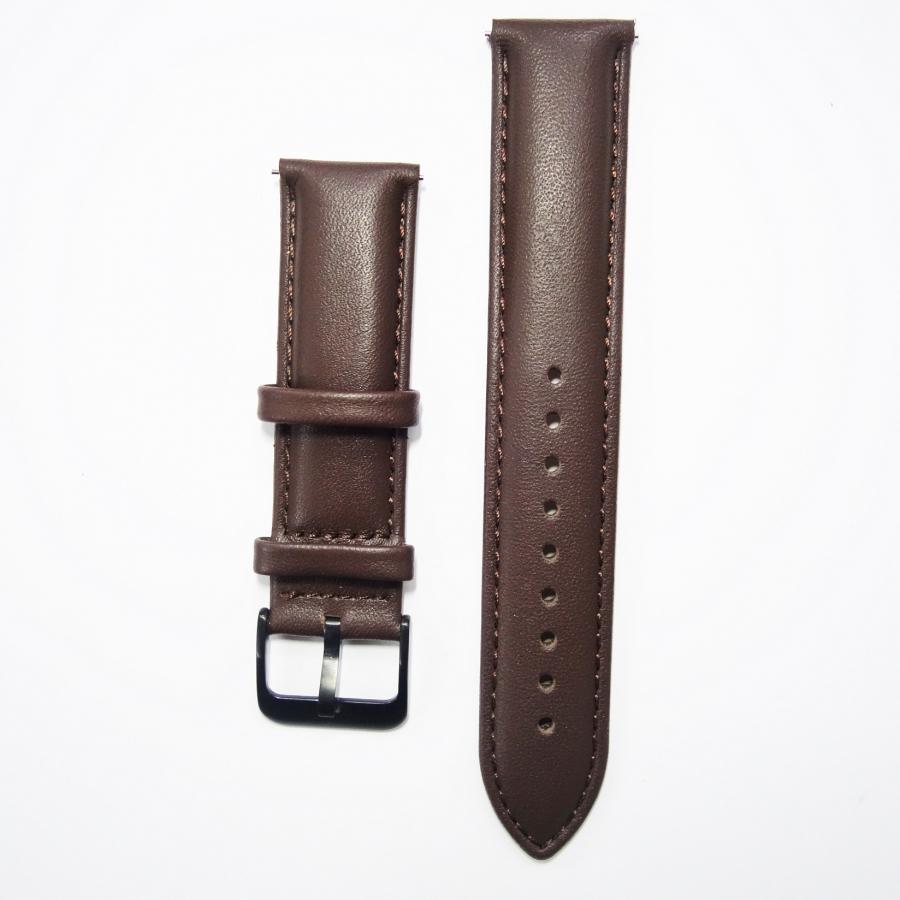 Dây da Size 20 cho Galaxy Watch, Gear S2 Nâu