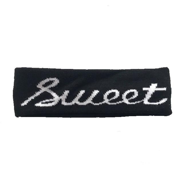 Headband Bts băng đô thể thao thần tượng nhiều mẫu - sweet đen