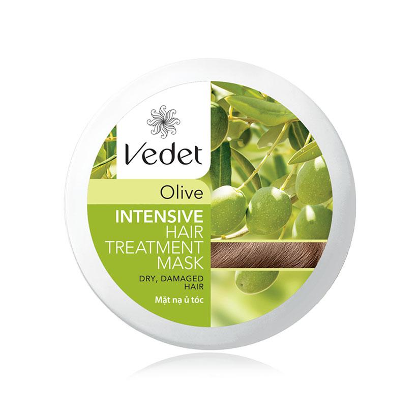 Bộ Đôi Mặt Nạ Vedette (Đất Sét Cocoa Sạch Sâu 145g, Ủ Tóc Olive Suôn Mượt 110g)