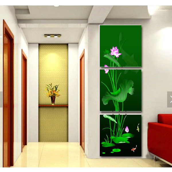 Tranh Treo Tường 3D Hiện Đại - Tranh Treo Tường Hoa 3D - H065