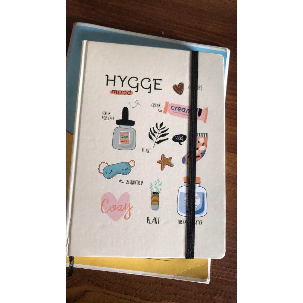 Sổ Tay Ruột Dot Crabit - HYGGE Be - 180 Trang (145x208mm)