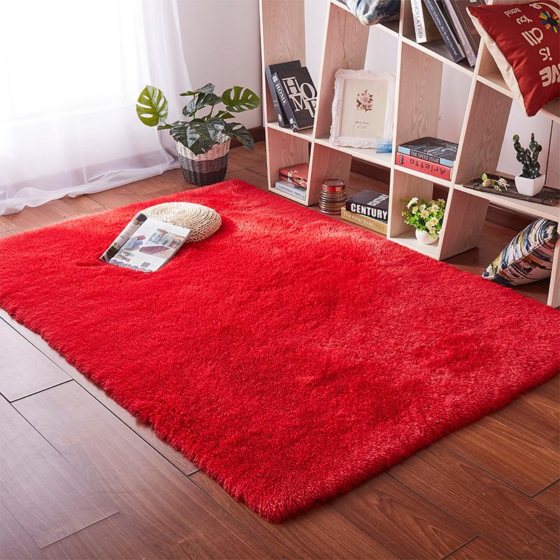 Thảm trải sàn phòng ngủ lông xù 160x200cm