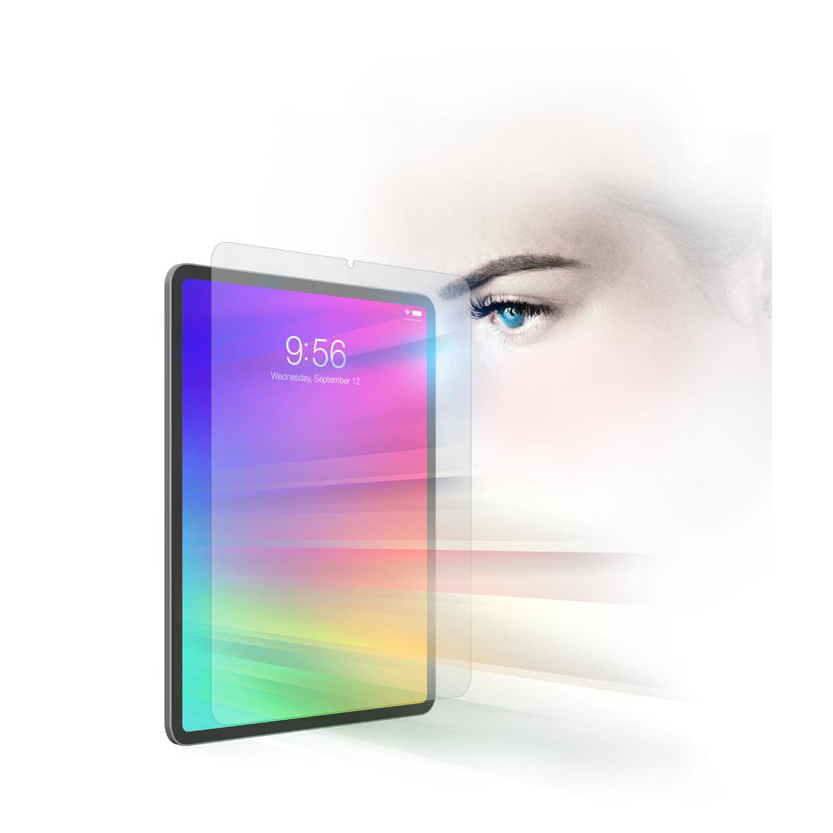 Miếng dán màn hình cường lực chống ánh sáng xanh bảo vệ mắt InvisibleShield cho iPad - Hàng Chính Hãng