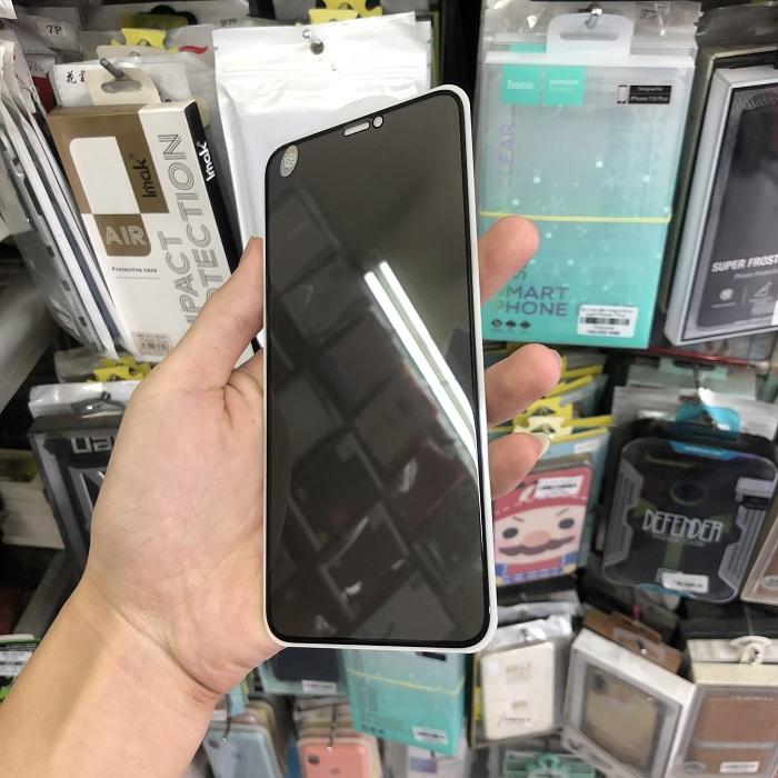Tấm dán cường lực full màn hình chống nhìn trộm dành cho iPhone 11 Pro Max