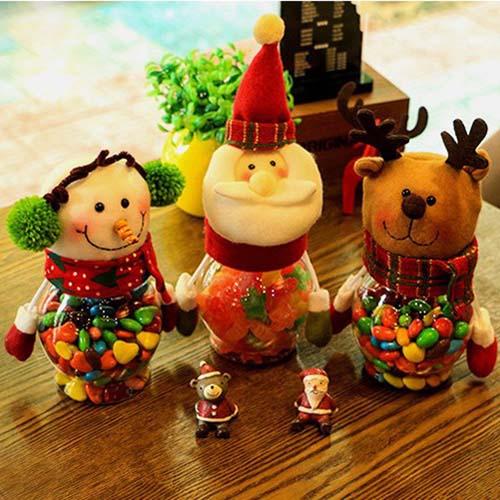 Hộp quà noel đựng kẹo giáng sinh (Mẫu Ngẫu nhiên)