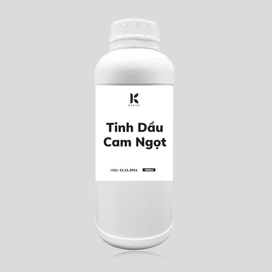 Tinh dầu Cam Ngọt Kepha 1 lít - Giúp Khử Mùi, Thơm Phòng, Sả Stress - Tinh dầu nguyên chất 100%, nhập khẩu trực tiếp Tây Ban Nha