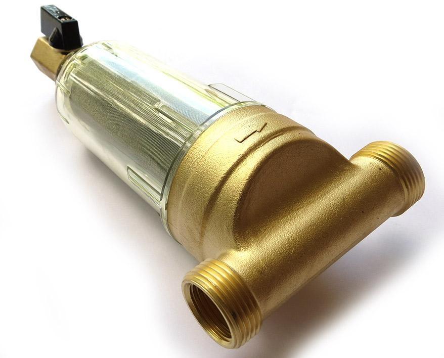 Bộ lọc nước thô đầu nguồn BYQ-5502 Chất liệu Hợp kim đồng cốc lọc nhựa Gen-27