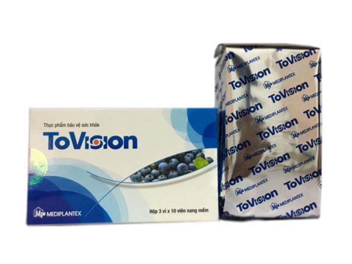 Thực phẩm bảo vệ sức khỏe: Tovision