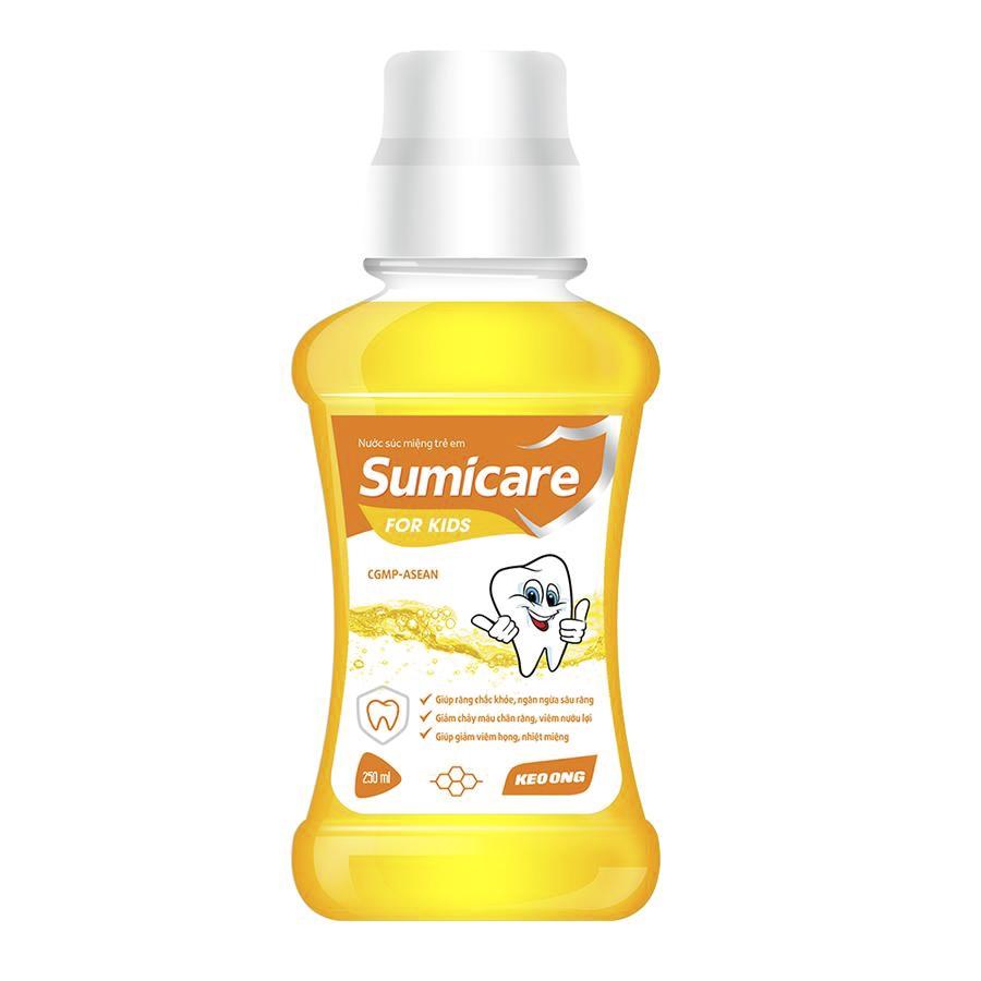 Nước Súc Miệng Sumicare Trẻ Em - Chiết xuất keo ong - Lọ 500 ml | Tiki