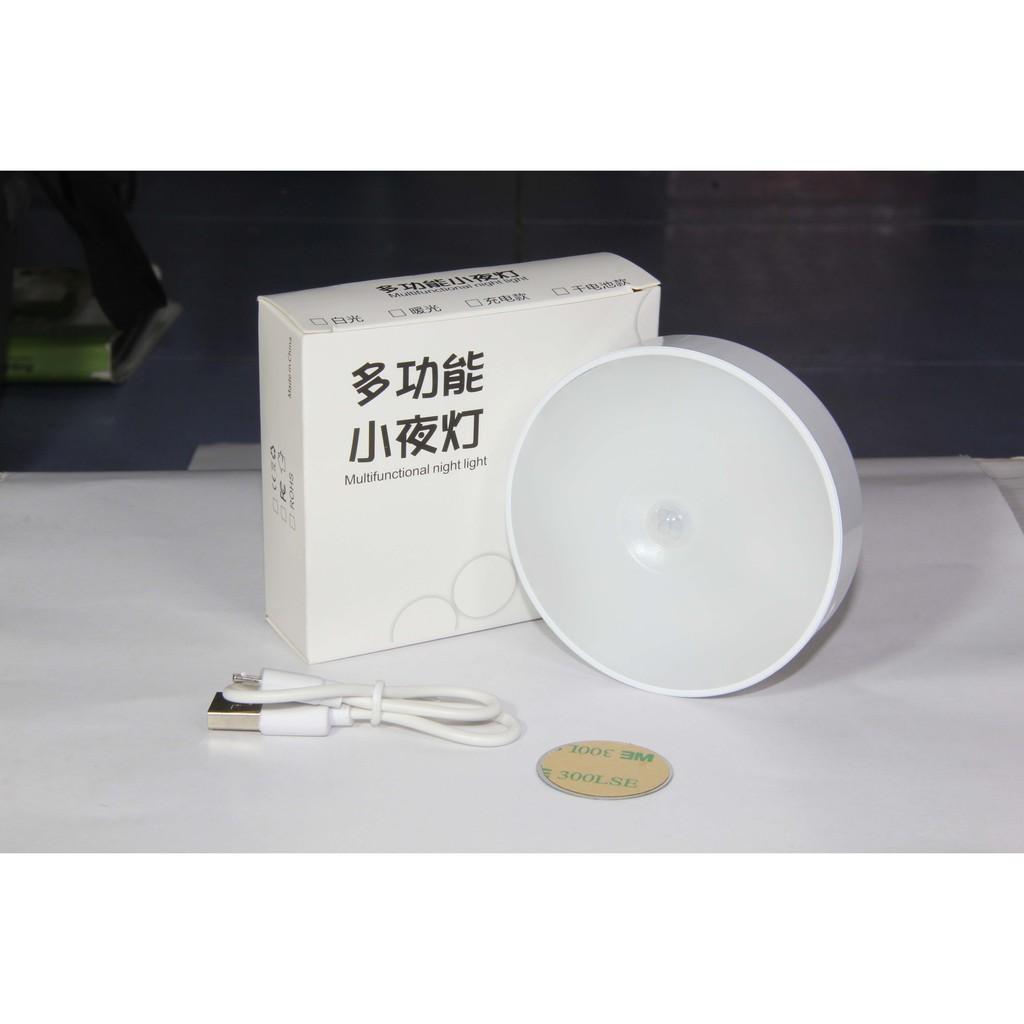 Đèn cảm ứng hồng ngoại sạc thông minh, đèn cảm biến chuyển động 1,5W - 3W