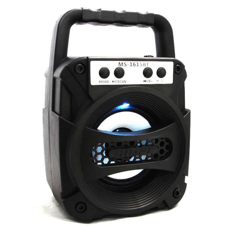 Loa Bluetooth Xách Tay MS-1615BT Âm Thanh Cực Đỉnh òng loa máy tính có kích thước nhỏ gọn, thiết kế trẻ trung với tay cầm xách tay