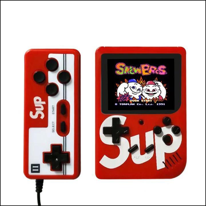 Máy chơi game đôi Sup 400 1+1 400 game kèm tay game - Hàng nhập khẩu