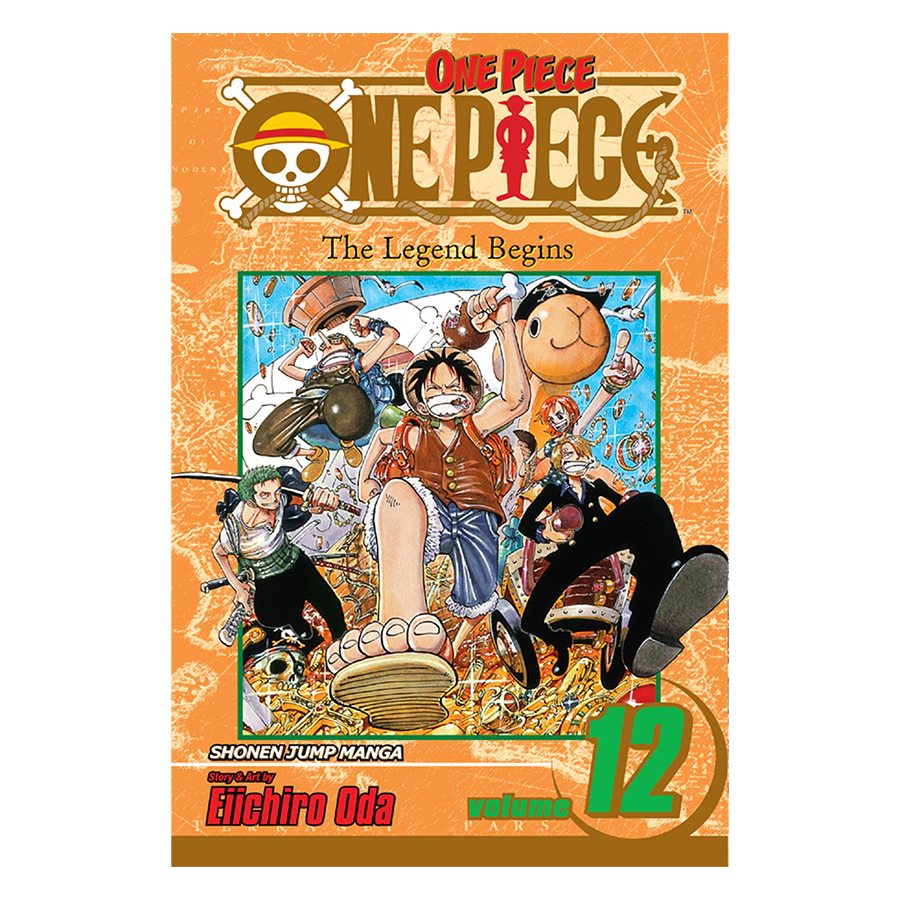 One Piece 12 - Tiếng Anh