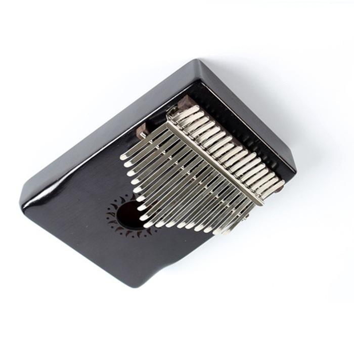 Đàn Kalimba Gỗ Mahogany cao cấp 17 phím màu đen