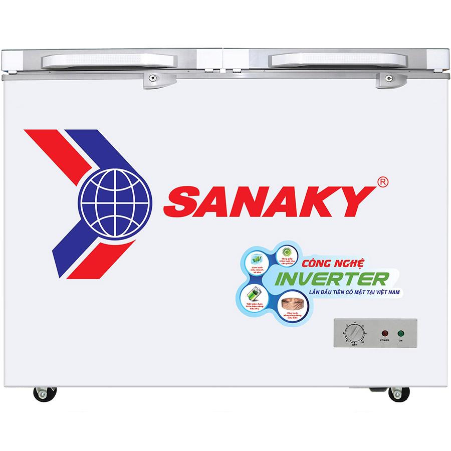 Tủ Đông Kính Cường Lực Inverter Sanaky VH-3699A4 (270L) - Hàng Chính Hãng - Chỉ Giao tại HCM