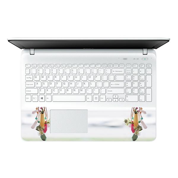 Mẫu Dán Decal Hoa Văn Trang Trí Laptop LTHV-217