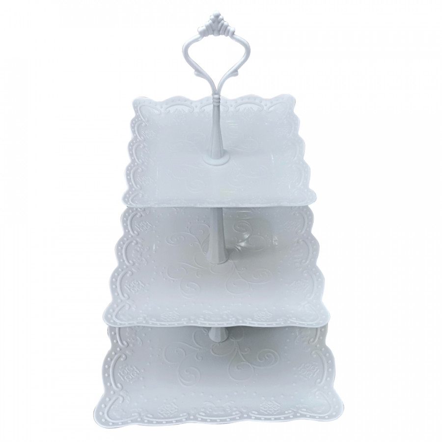 Khay nhựa 3 tầng