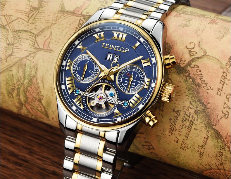 Đồng hồ nam chính hãng Teintop T8660-7