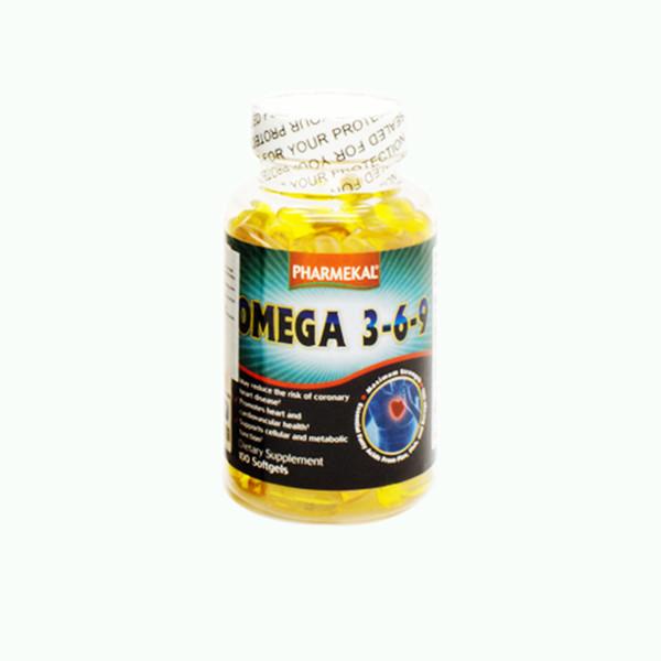 Combo 3 Hộp Viên Uống Dầu Cá Omega 369 Pharmekal - 100 Viên