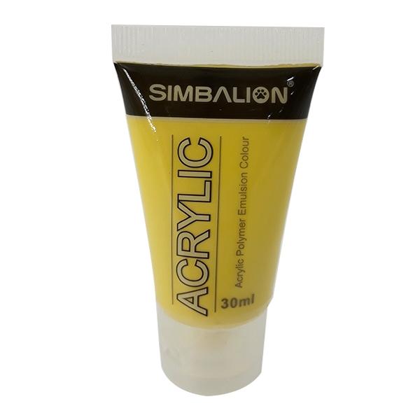 Màu Vẽ Simbalion Acrylic 30ml NAC30 - 21 - Vàng Ngà Voi