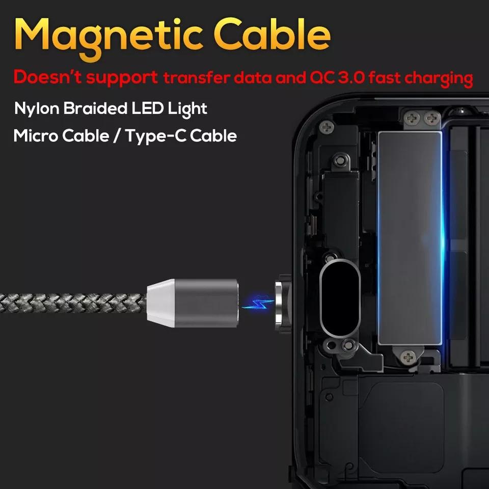 Cáp sạc nam châm đầu  USB-C  MG-77C