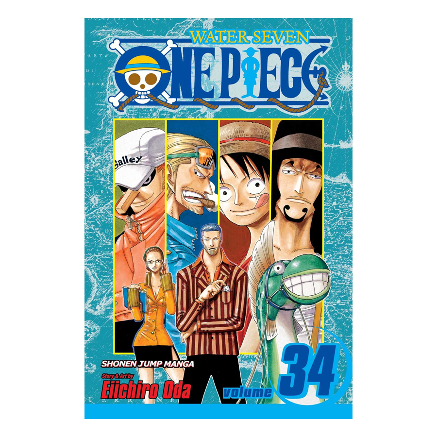 One Piece 34 - Tiếng Anh