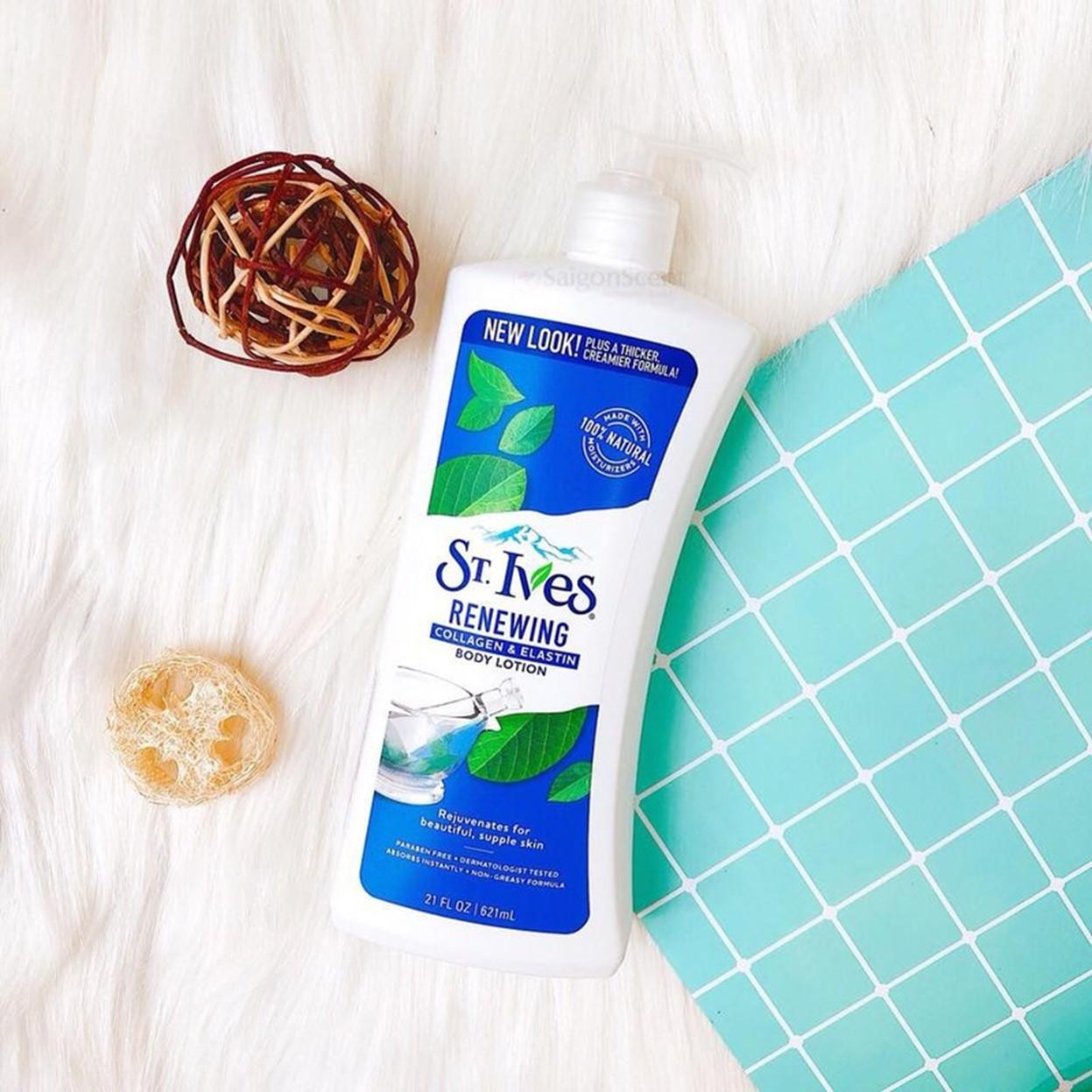 Sữa Dưỡng Thể St.Ives Trẻ Hóa Da Collagen 621ml
