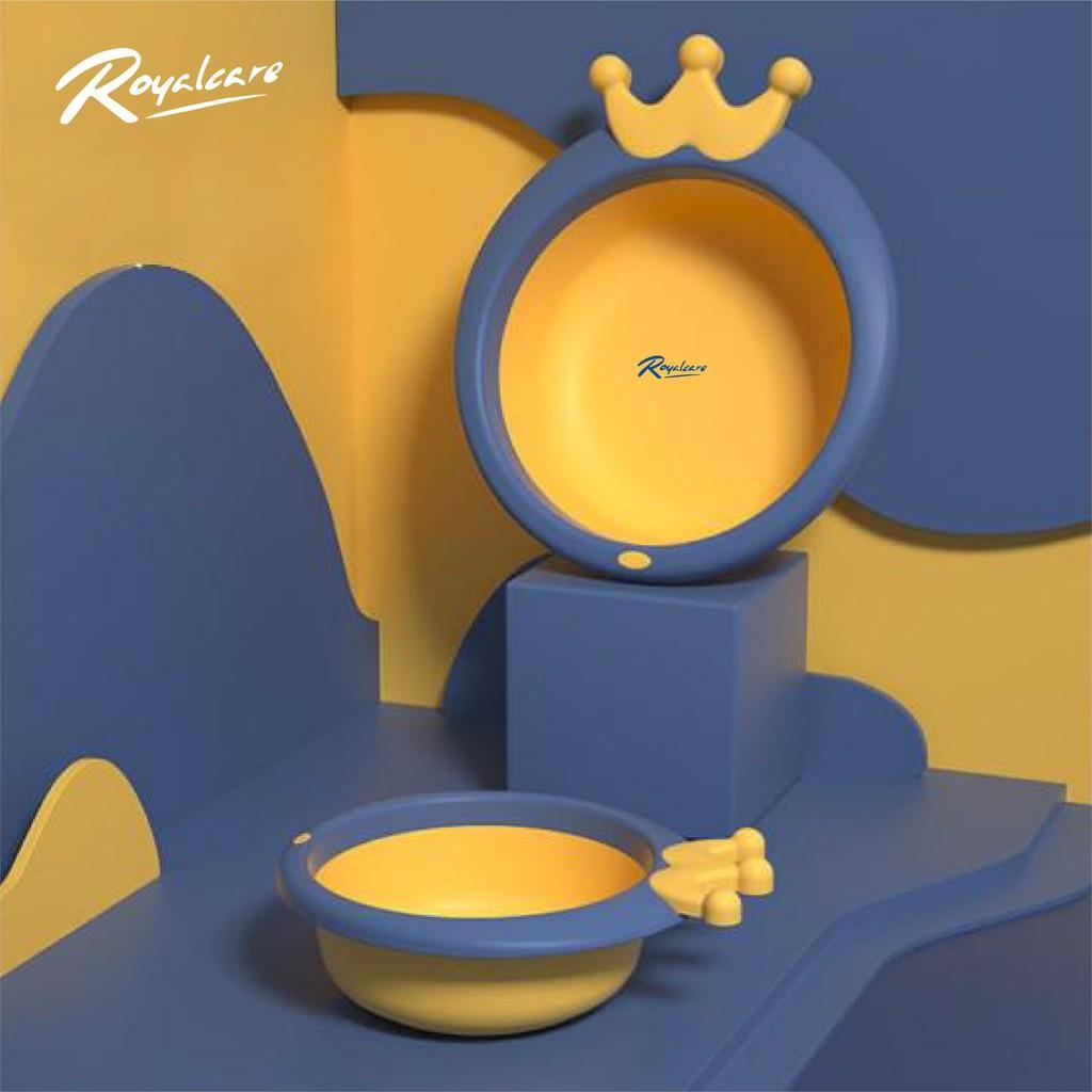 Chậu rửa mặt cho bé hình vương miện Royalcare 8924