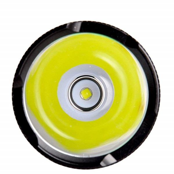Đèn pin Supfire C8-T6 Led Vàng xuyên khói