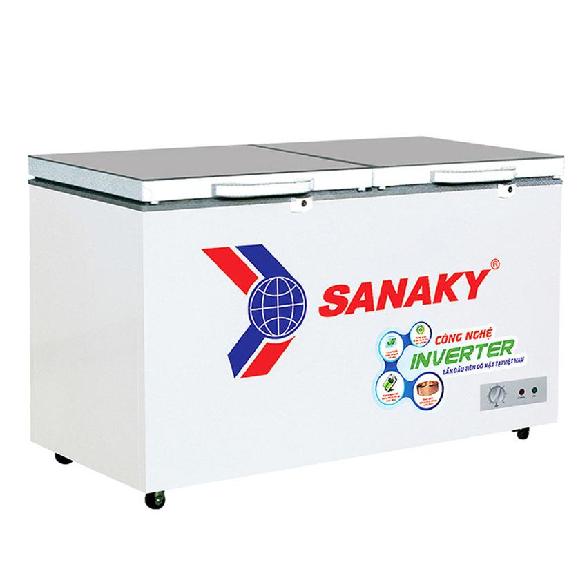 TỦ ĐÔNG INVERTER SANAKY 305 LÍT VH-4099A4K ĐỒNG (R600A) (HÀNG CHÍNH HÃNG) (CHỈ GIAO HCM)