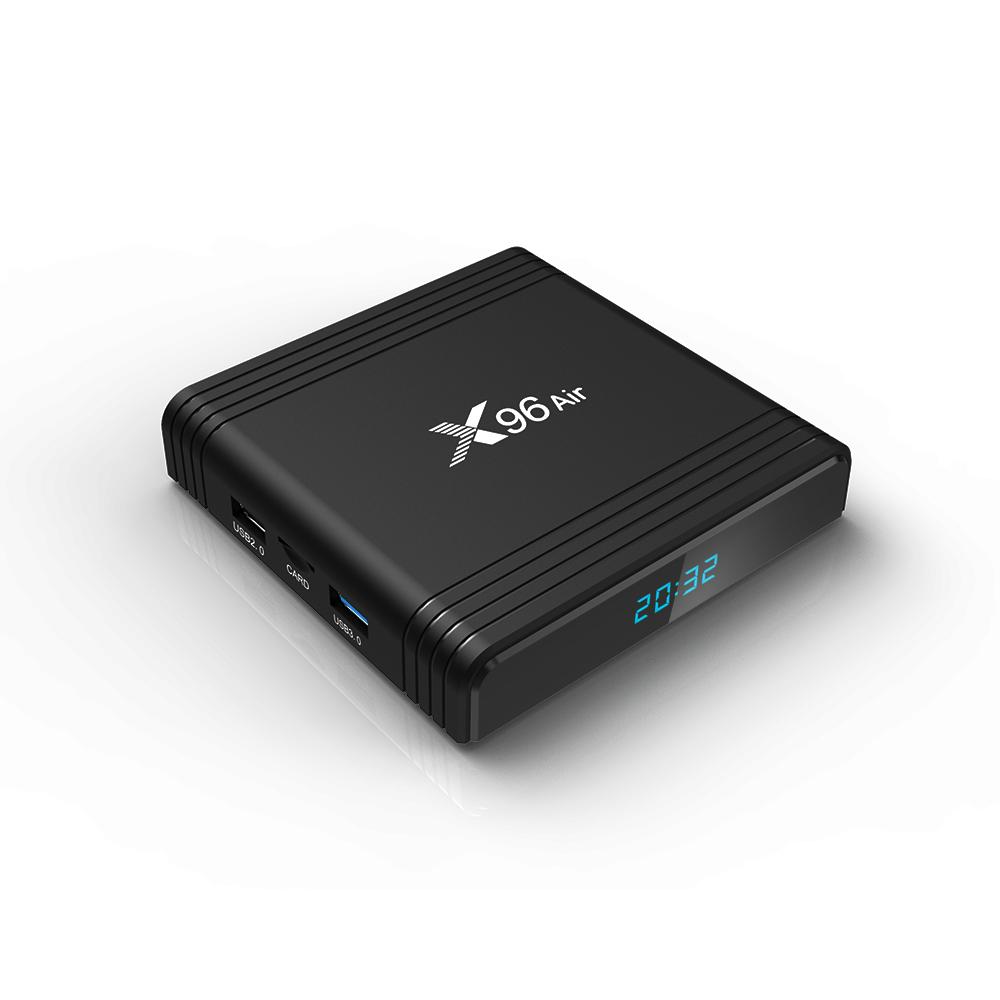 Android TV Box X96 Air - Amlogic S905X3, 4GB Ram, 32GB bộ nhớ trong, Android 9 - Hàng chính hãng