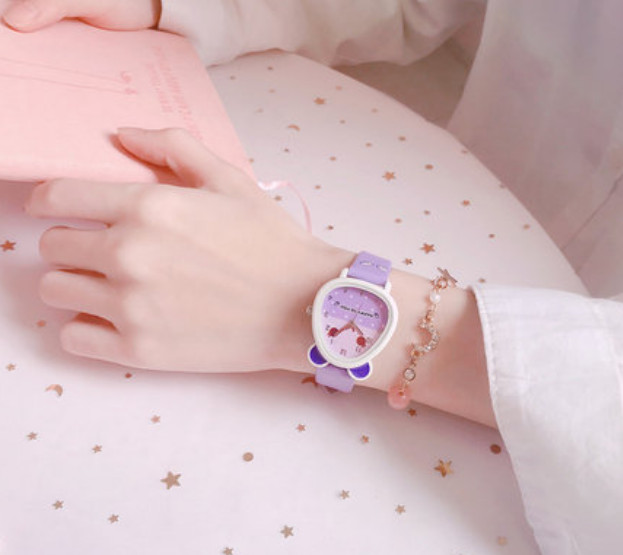 Đồng hồ trẻ em cao cấp ngỗ nghĩnh cho bé gái - chuottim