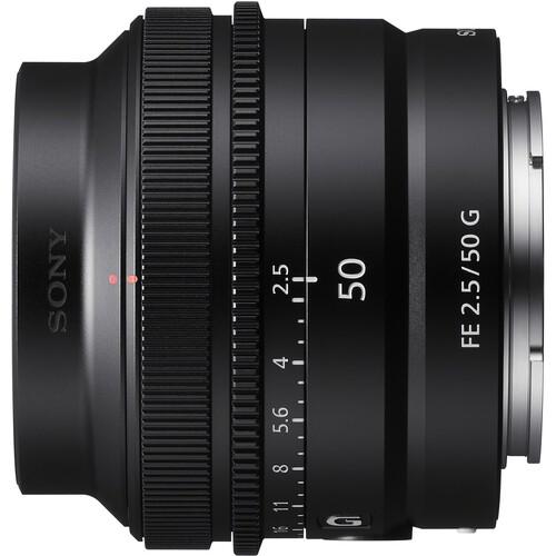 Ống kính Sony FE 50mm F/2.5 G - Hàng Chính hãng