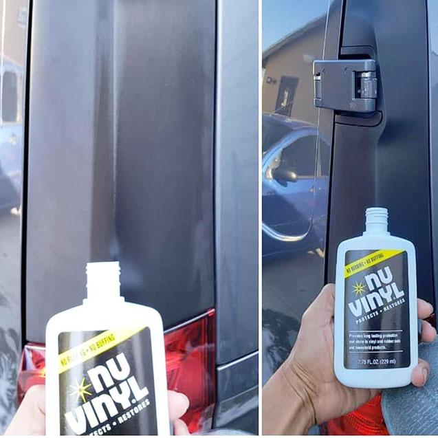 Dung dịch phục hồi và bảo vệ nội thất xe Nu Finish - Nu Vinyl 229ml